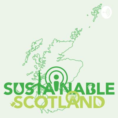 Sustainable Scotland podcast logo