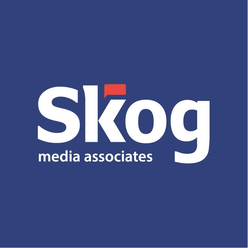 Skog Media Associates blue logo
